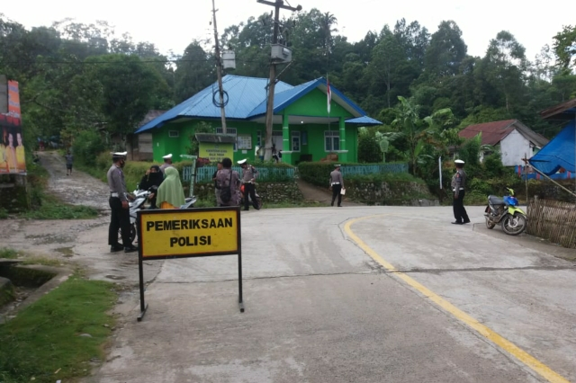 Operasi Terpadu Penertiban Pajak Kendaraan di Back Up Jajaran Kepolisian Lalulintas Polres Mamasa