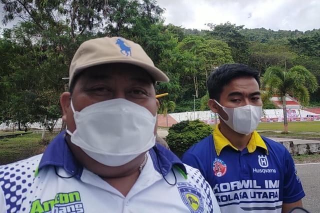 Persiapan PON Papua, Ketua IMI Sultra Menyaksikan Sesi Latihan di Kolut