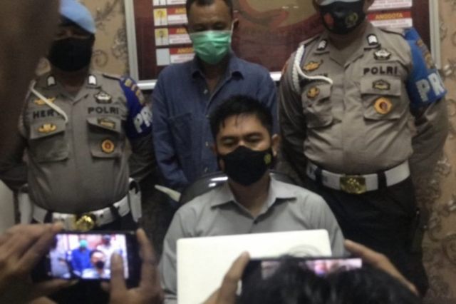 Satres Narkoba Polres Kolut Amankan Terduga Pelaku Pengedar Sabu
